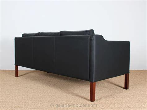 canapé danois canapé danois 3 places en cuir 22 coloris galerie møbler