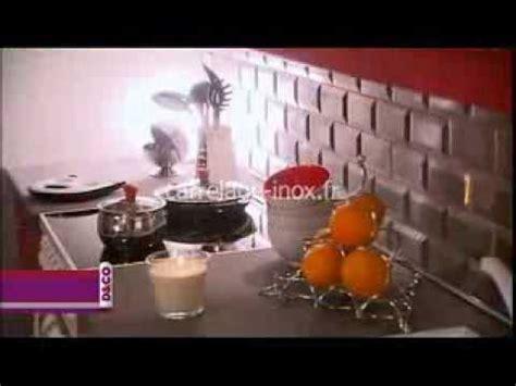 credence pour cuisine carrelage inox fr carrelage metro en veritable acier pour