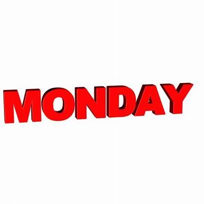 Monday Word Week Calendar Text Desicomments Whatsapp