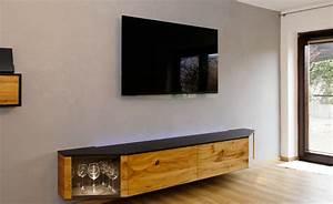 Sideboard Weiß Hängend : wohnwand sideboard h ngend in eiche ~ A.2002-acura-tl-radio.info Haus und Dekorationen