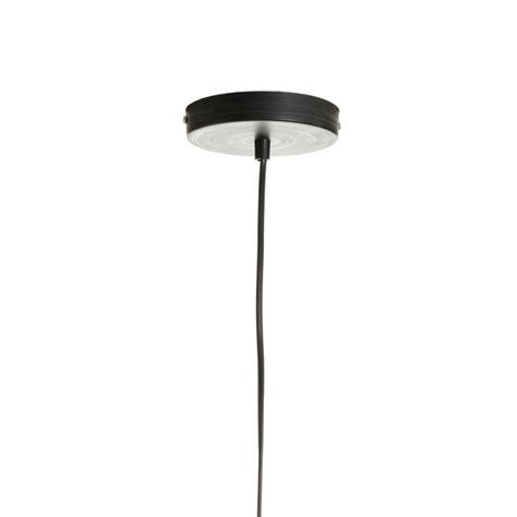 lampara de techo industrial negra de metal  comedor