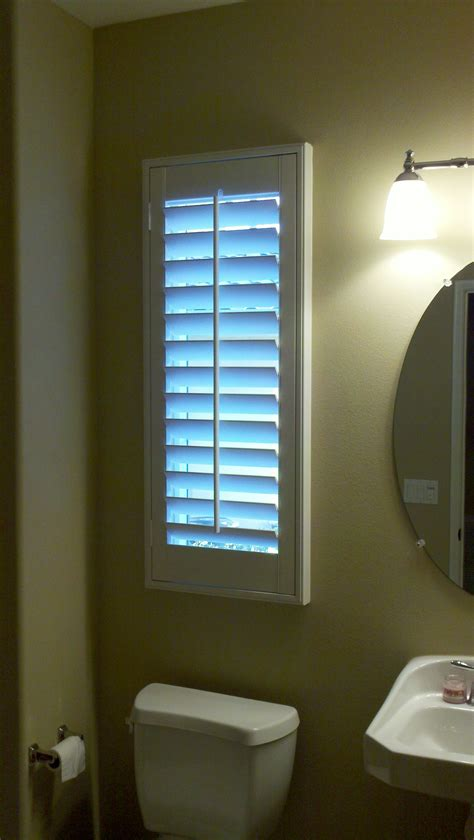 Small Bathroom Blinds by Plantation Shutters Il Ca Superior View Shutters