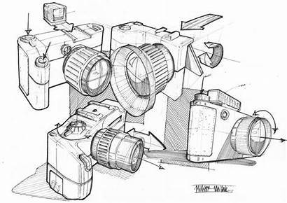 Industrial Furniture Sketch Camera Sketches Placement Bedroom