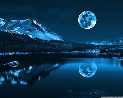 Moonlight Night 4k Hd Desktop Wallpaper For 4k Ultra Hd Tv