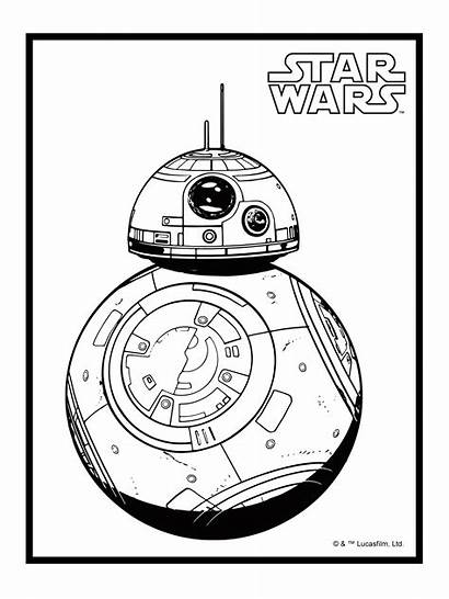 Bb8 Coloring Pages Bb Wars Star Template