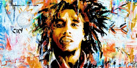 bob marley abstract wwwtimeartcouk
