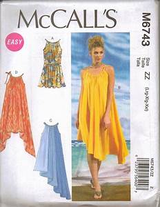 New McCalls Sewing Pattern Summer Dress Misses Size Your ...