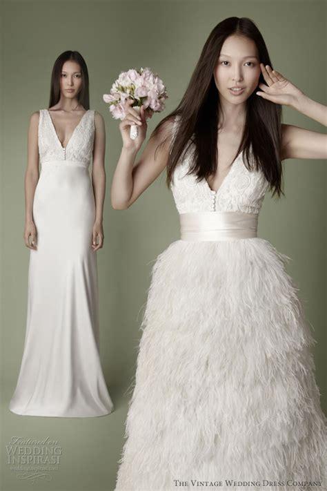 vintage inspired wedding dress the vintage wedding dress company 2013 decades bridal collection wedding inspirasi