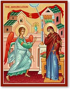 Great Feast Icons: Annunciation Icon Monastery Icons