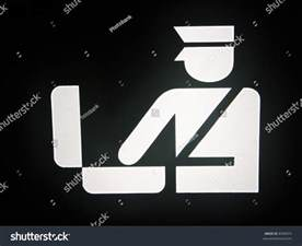 Airport Security Check Signs