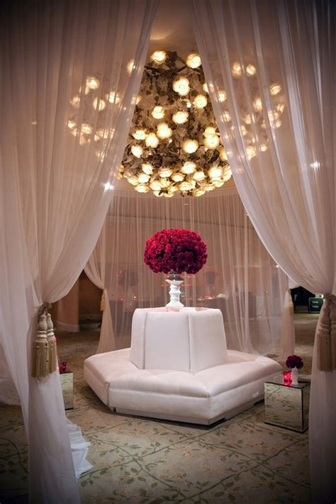 wedding decor hanging flowers lanterns chandeliers