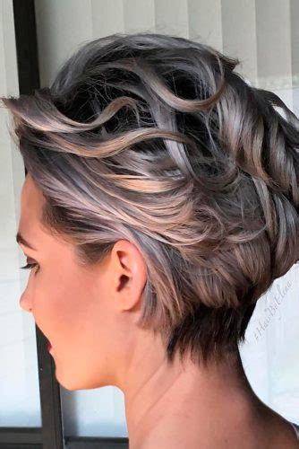 Hair color affects hairstyle on the way or the other. 33 Short Grey Hair Cuts and Styles | LoveHairStyles.com
