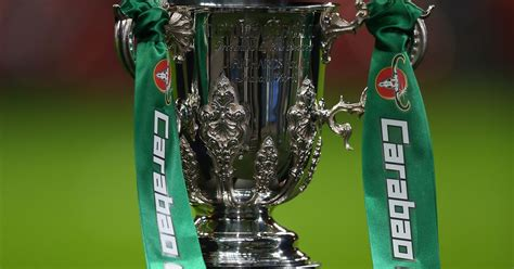 Carabao Cup second round draw ball numbers confirmed for ...