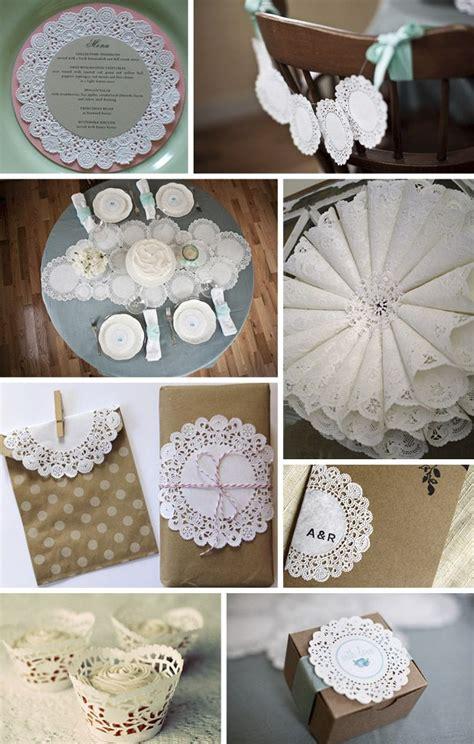 paper doily wedding ideas wedding diy and tutorials