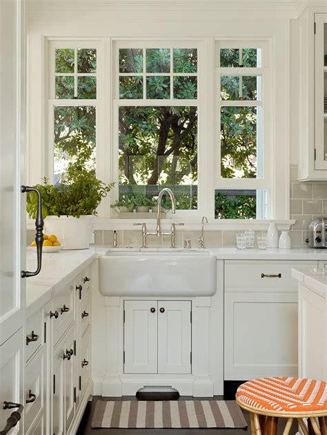 Kitchen Faucet Placement by Glorious Kitchen Faucet Placement With Window White
