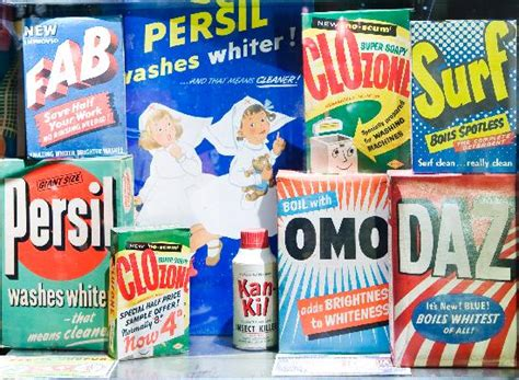 Fifties Washing Powders From Museum Of Brands 1950s