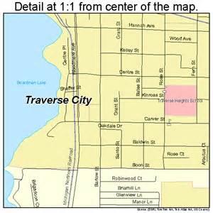 Traverse City Michigan Street Map
