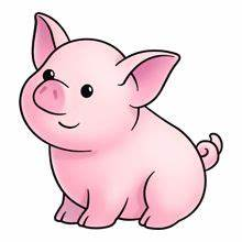 Pig - Lots of clip art on this site | Paper Anime ...
