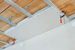 Paneele Ohne Unterkonstruktion : budowa sufitu podwieszanego z p yt gipsowo kartonowych porady leroy merlin ~ Cokemachineaccidents.com Haus und Dekorationen
