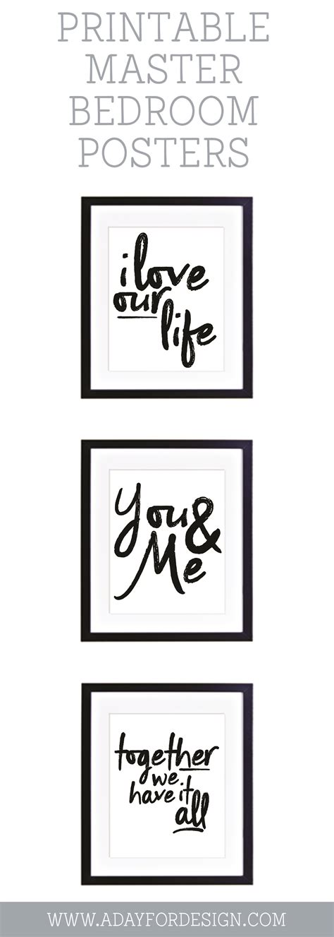 love  life printable poster  day  design
