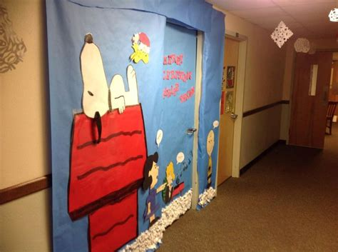 snoopy classroom door decorations did this for my room but would work well in a