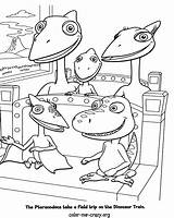 Train Dinosaur Coloring Pages Dino Dinosaurs sketch template