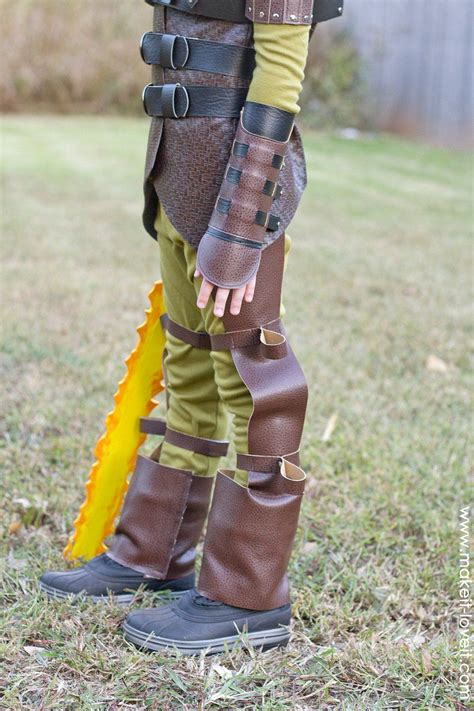 Diy Hiccup Costume From How Train Your Dragon