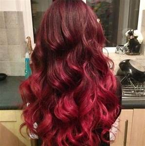 Red ombre/balayage | Hair Up-dos | Pinterest | Balayage ...