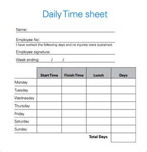 Fax Cover Sheets Templates Daily Timesheet Template 10 Free For Pdf Excel