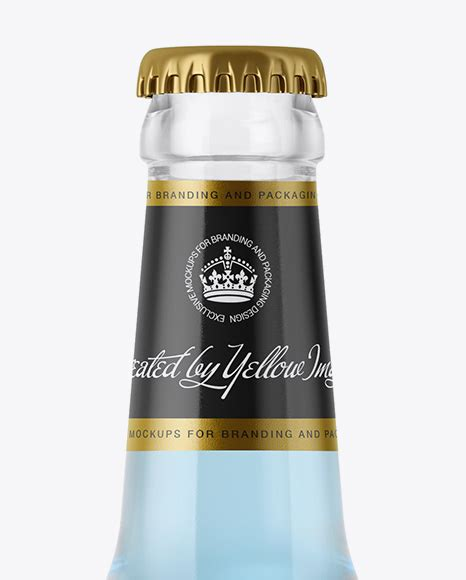 9,000+ vectors, stock photos & psd files. 330ml Clear Glass Bottle with Blue Drink Mockup in Bottle ...