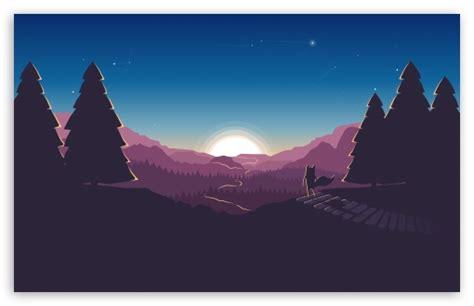 flat design illustration  hd desktop wallpaper