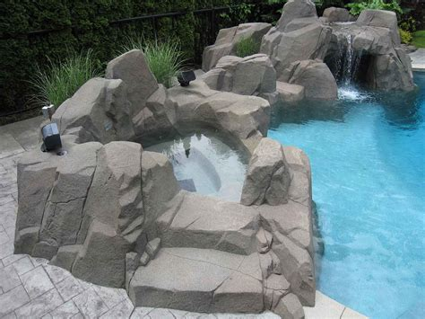 custom designed artificial rock work azuro concepts