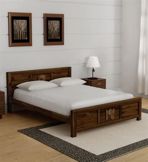 buy avilys solid wood queen size bed provincial teak