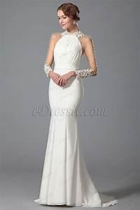 robe de soiree longue blanche With robe blanche soiree