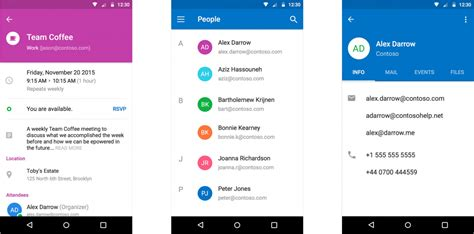 outlook  ios  android gains momentum