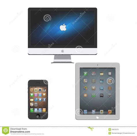 Apple Imac Iphone Ipad Editorial Image