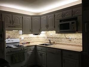 Under cabinet led lighting kit complete light strip