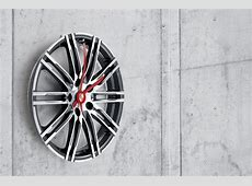 Porsche 911 Turbo rim wall clock Gentleman's Style