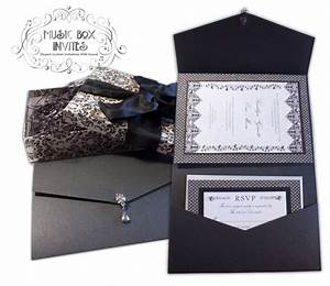 17 best images about musical invitations portfolio With musical box wedding invitations