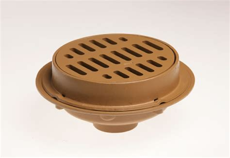 2140 heavy duty floor drains with 12 quot round tops jay r