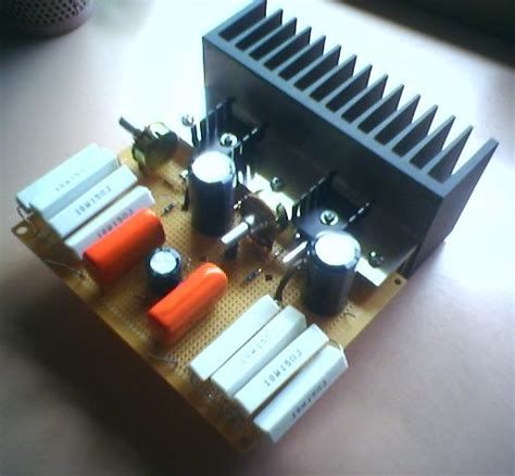 diy class  sk mosfet amplifier project