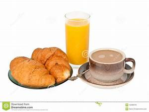 Continental breakfast stock photo. Image of crescent ...