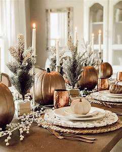 Thanksgiving, Table, Decorating, Ideas, And, Inspiration