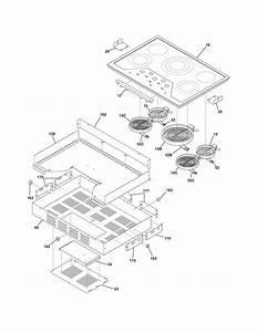 Electrolux E30ec65ess3 Electric Cooktop Parts