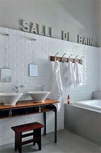 Salle de bain esprit de recup de chine et de vintage for Attractive quelle couleur s associe avec le gris 5 salle de bain esprit de recup de chine et de vintage
