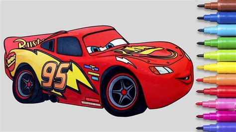 cars  lightning mcqueen coloring pages coloring