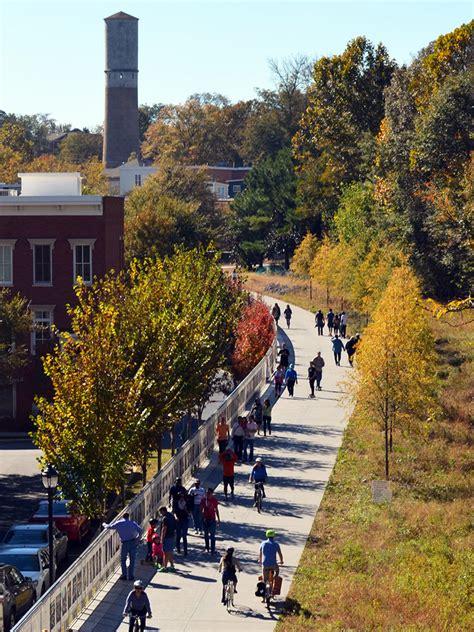 atlanta beltline corridor design  trails perkins