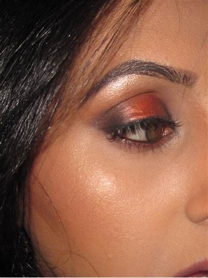 Mac Coppering Beauty Eyeshadow Carbon Folie Texture