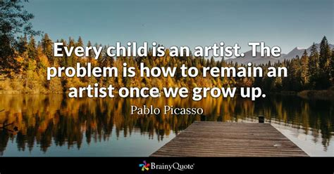 child   artist  problem    remain