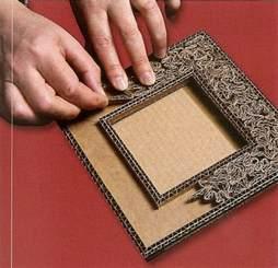 tutoriel fabriquer un petit cadre en cr 233 ations en cartonnage
